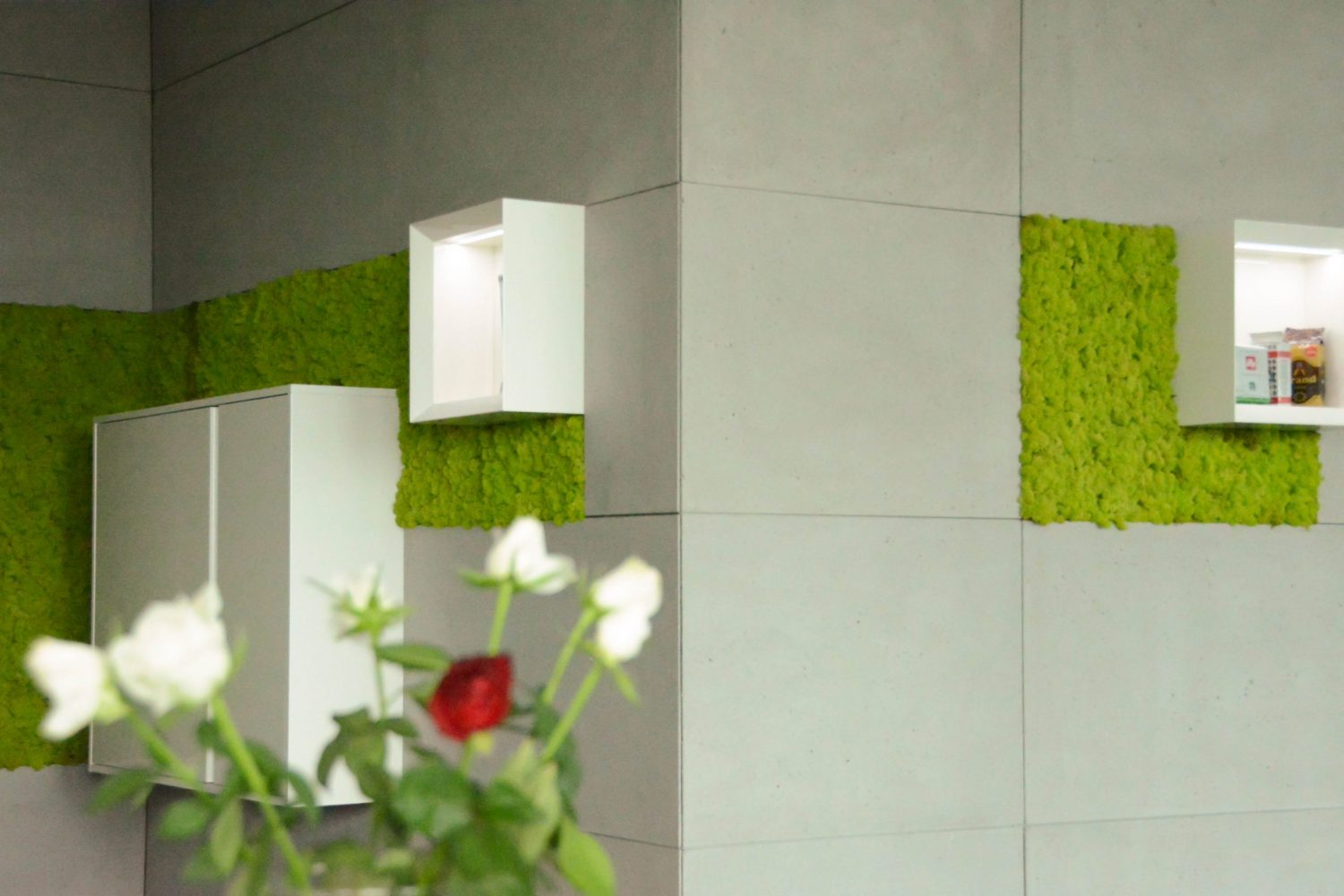 27 Architectural concrete wall finishes